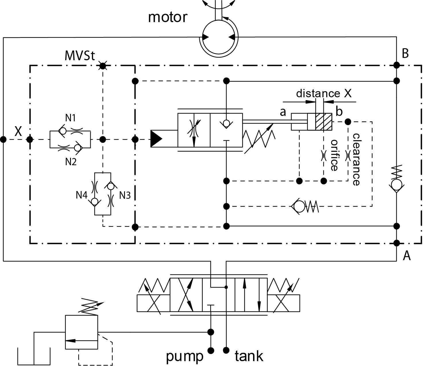 Schaltschemen Standardvariante N